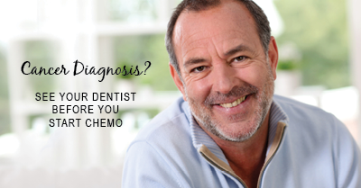 cancer diagnosis? see your dentist before you start chemo
