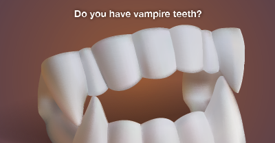 easy way to fix vampire teeth